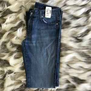 NWT 7 For All Mankind A Pocket Flare